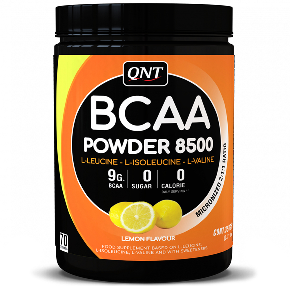 BCAA QNT BCAA Powder 8500 350 g Лимон