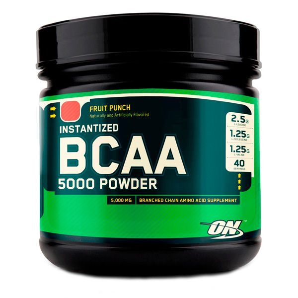 BCAA Optimum Nutrition BCAA 5000 Powder 380 g Фруктовый пунш